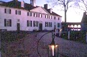 Mt. Vernon by candlelight